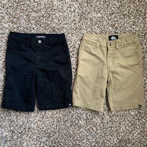 Little Boy's Quiksilver shorts bundle, size 5